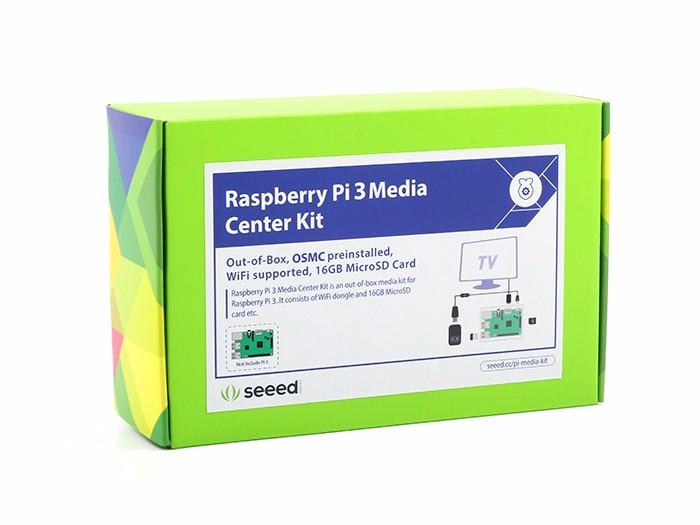 raspberry pi 3 media center review