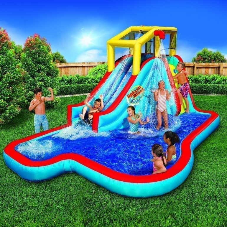 inflatable water slides for pools reviews