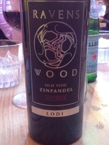 ravenswood old vine zinfandel review