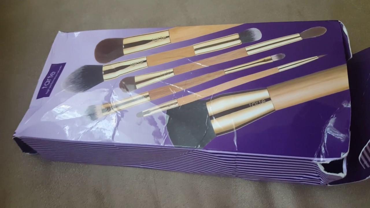tarte back to school brush set review
