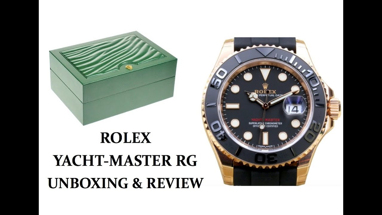 rolex yacht master everose review