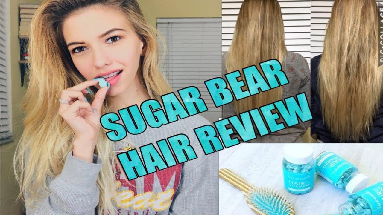 review pemakaian sugar bear hair
