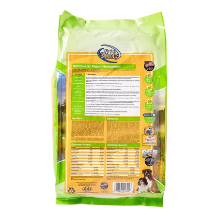 nutrisource weight management dog food reviews