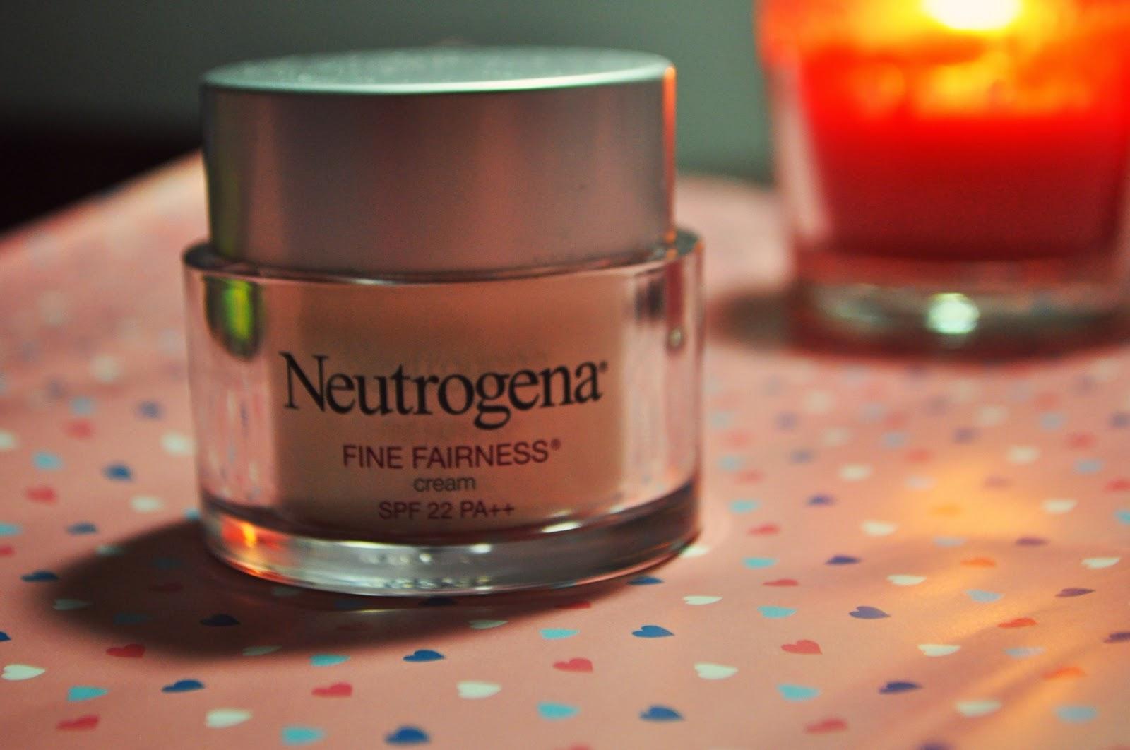 neutrogena fine fairness eye cream review