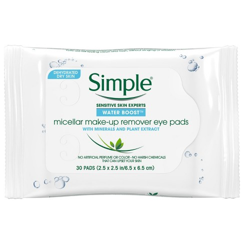 simple eye makeup remover pads review