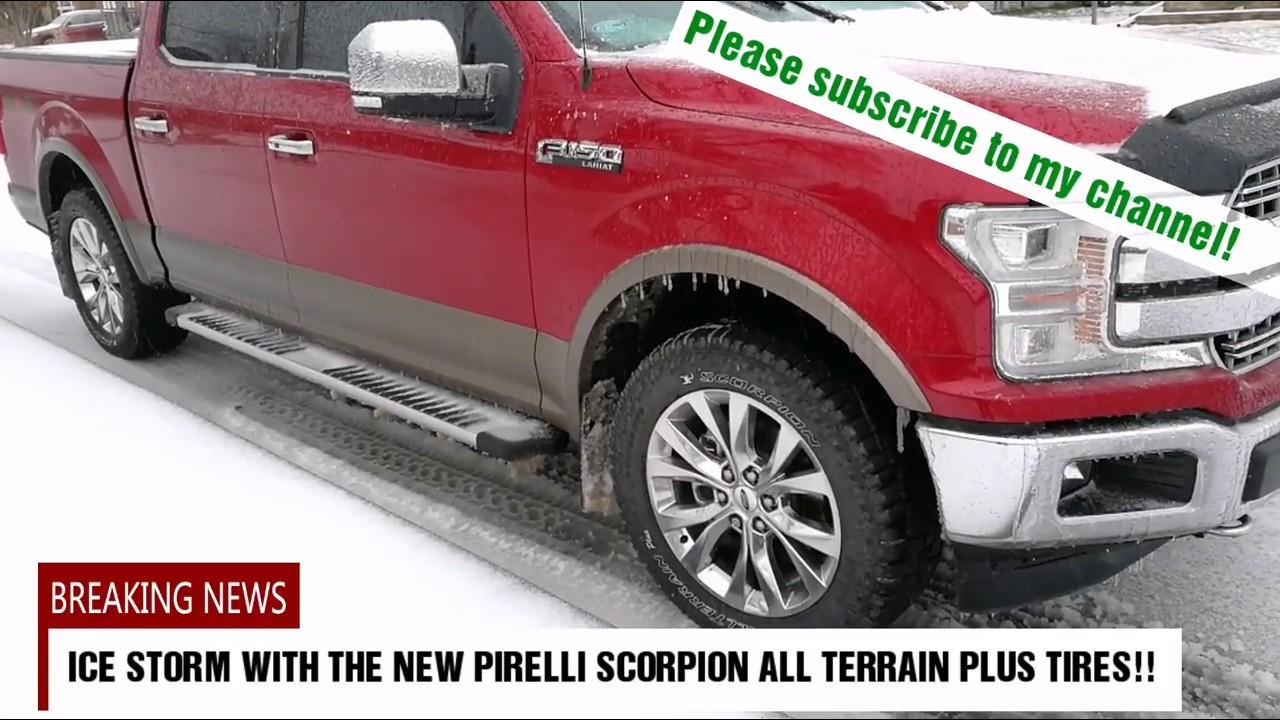 pirelli scorpion ice & snow review