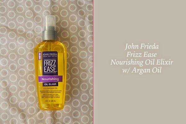 john frieda argan oil review