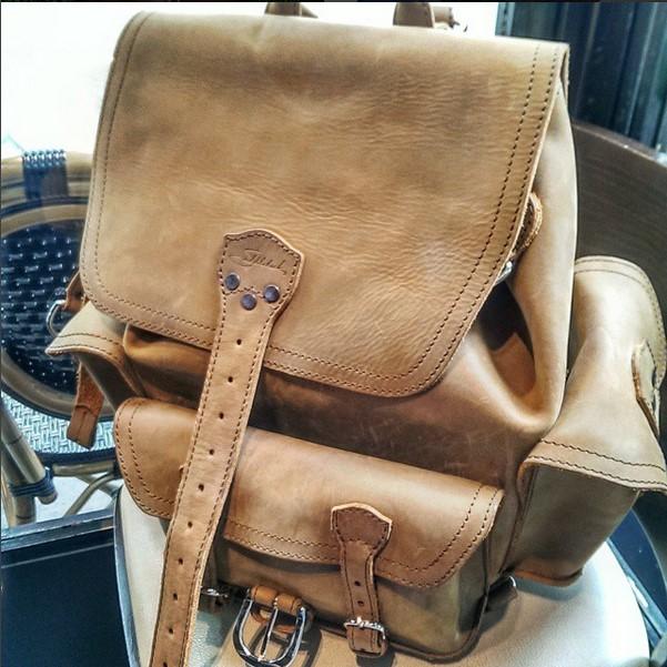 saddleback leather front pocket backpack review