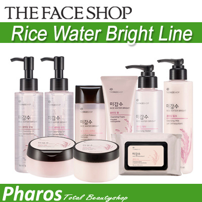 the face shop rice water cleansing milk review