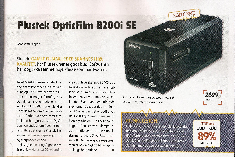 plustek opticfilm 8200i se film scanner review