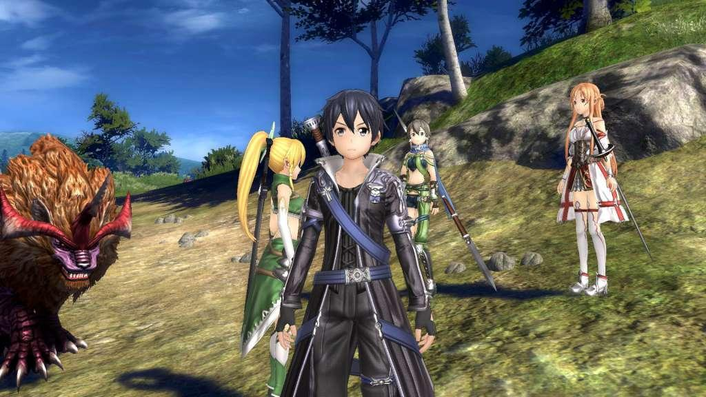 sword art online ps4 hollow realization review
