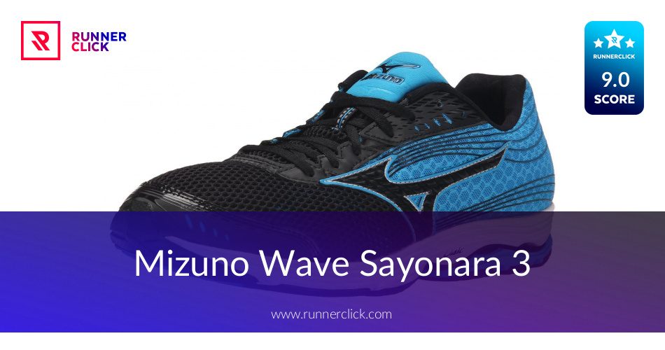 mizuno wave sayonara 3 review