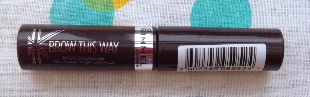 rimmel brow this way gel review