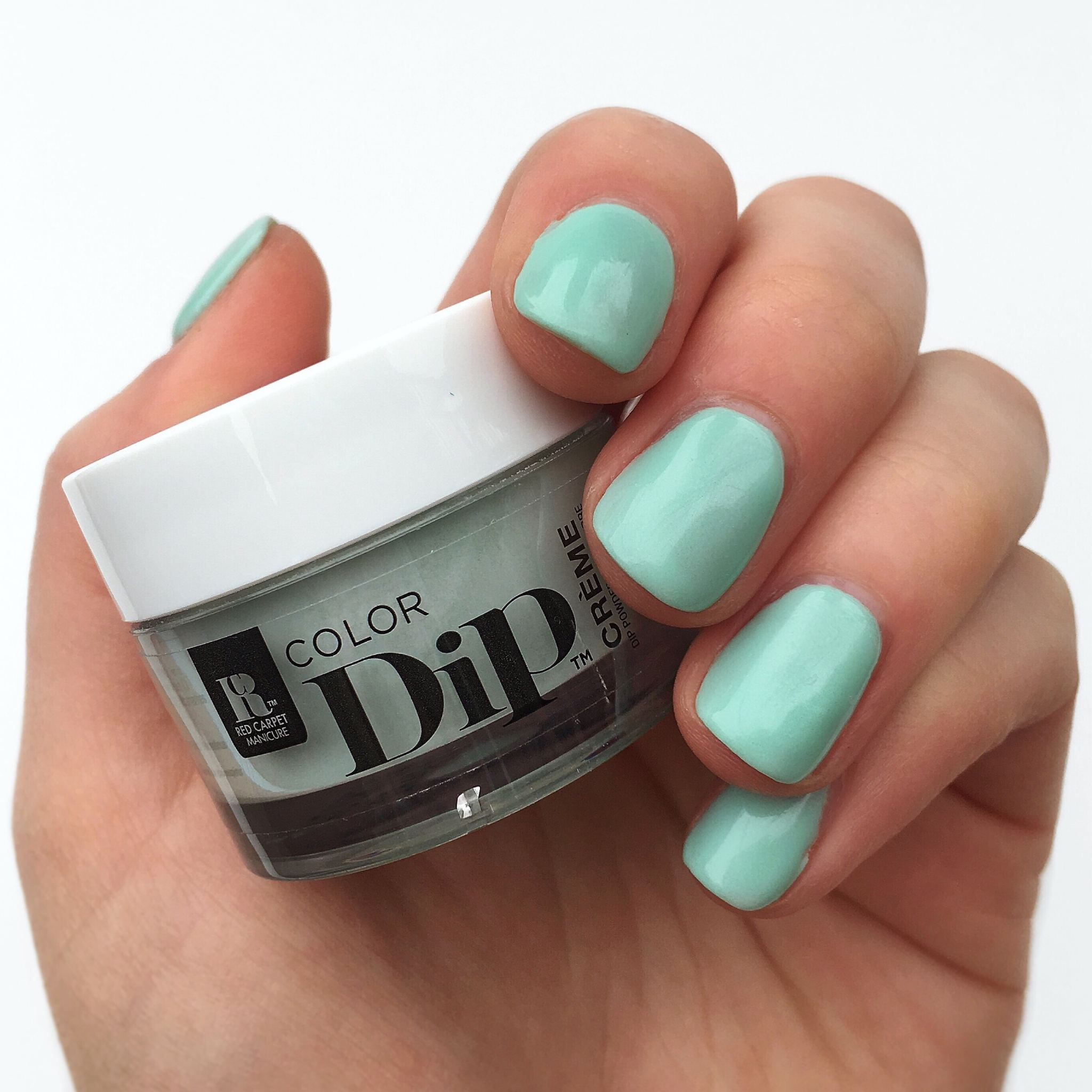 red carpet manicure dip review