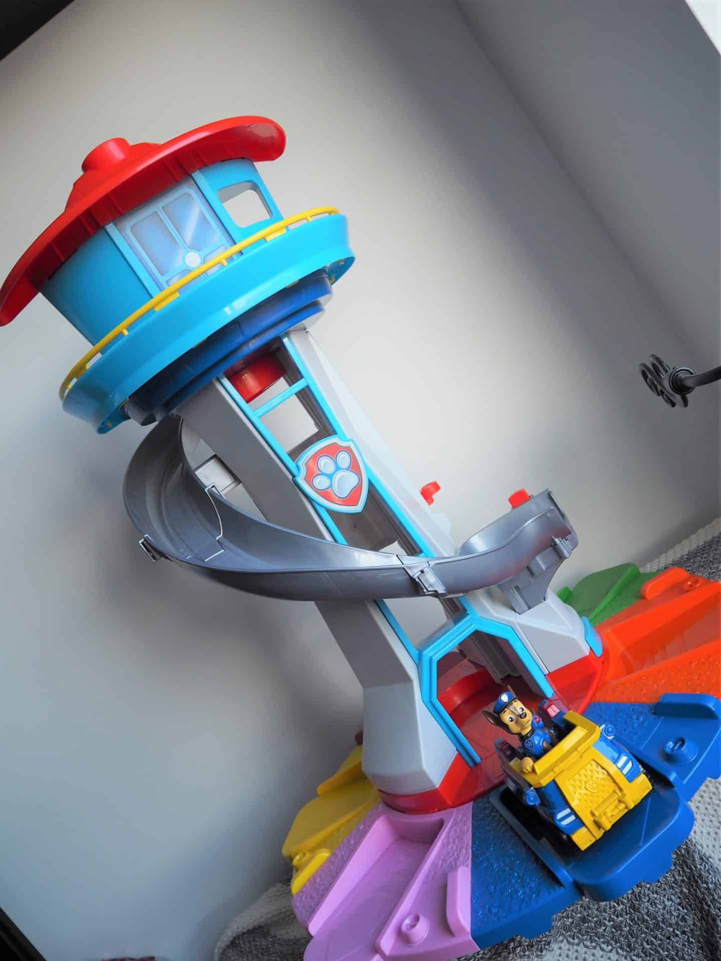 paw patrol my size lookout tower review