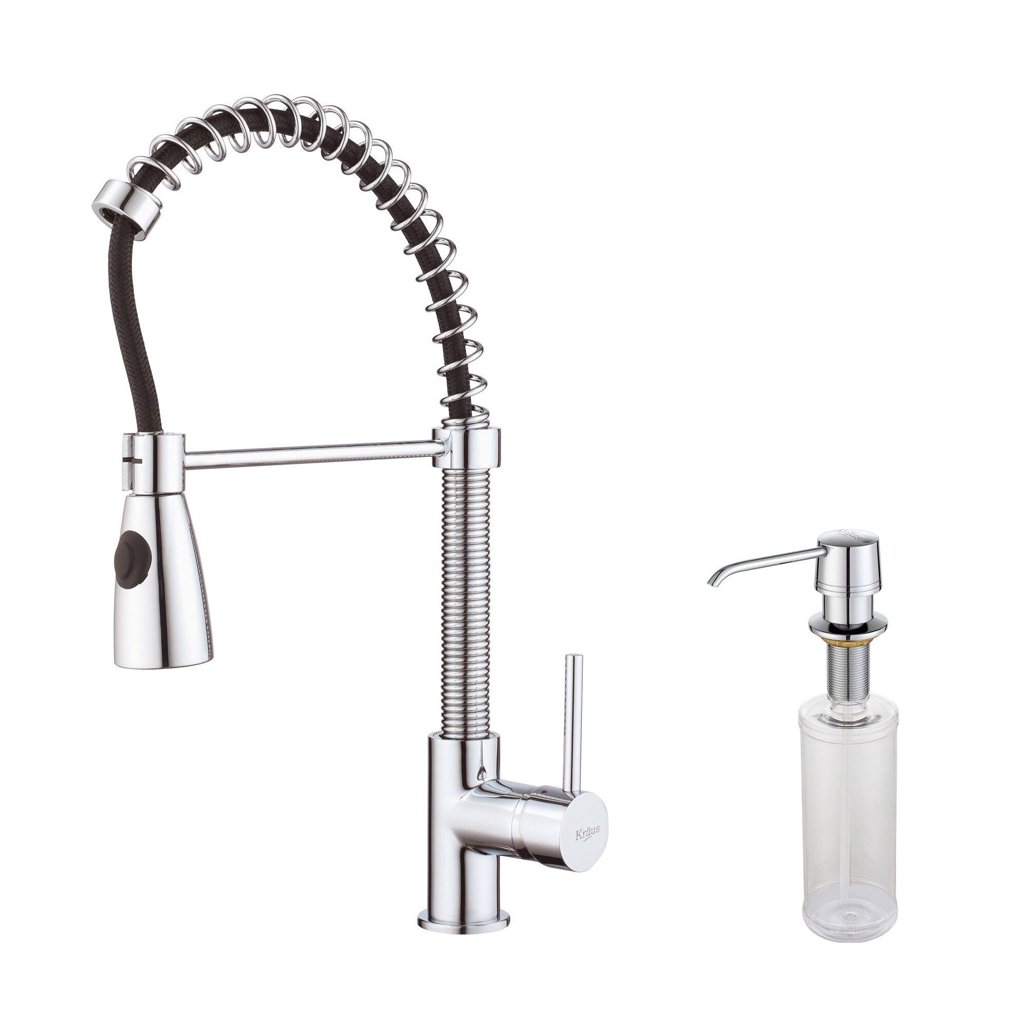 kitchen faucet with soap dispenser reviews