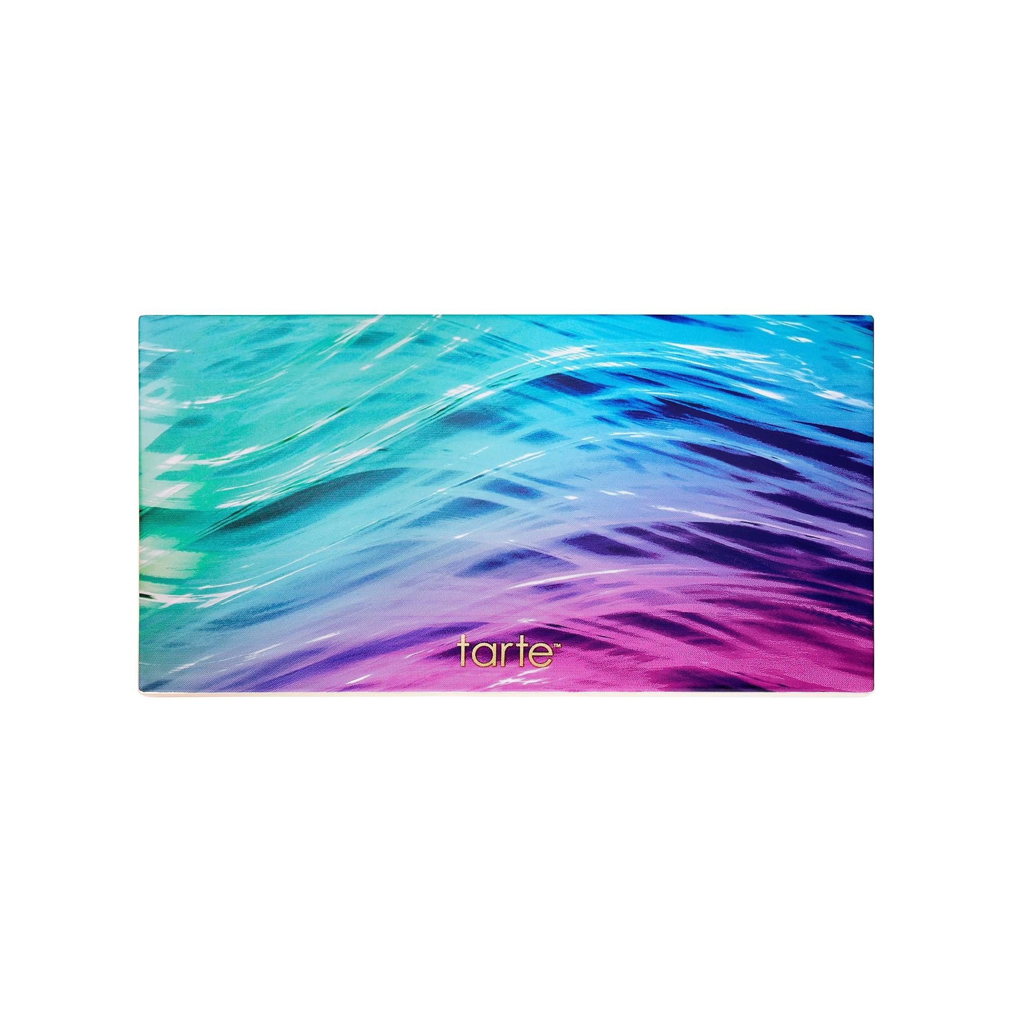 tarte rainforest of the sea skin twinkle lighting palette review