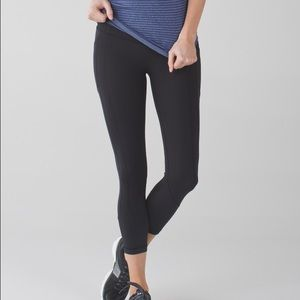 lululemon all the right places crop review
