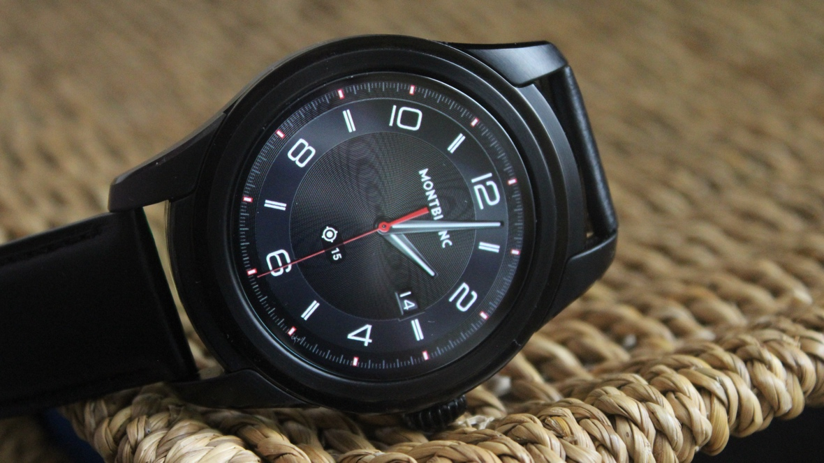 mont blanc summit watch review