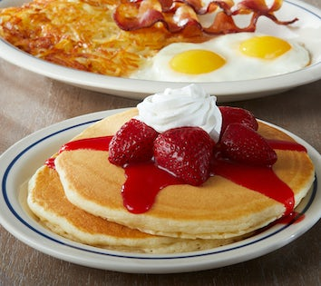 new york cheesecake pancakes ihop review