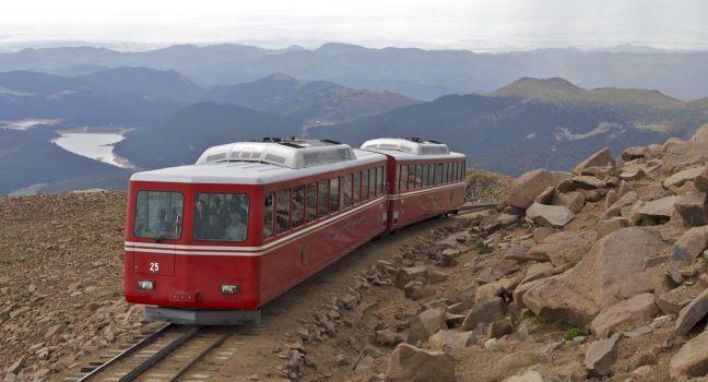 pikes peak cog railway reviews