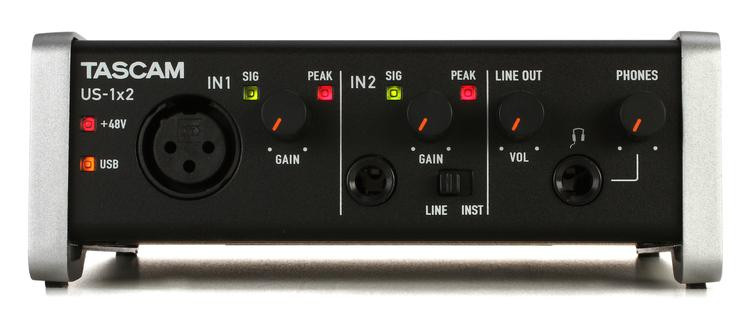 tascam us 800 usb audio interface review