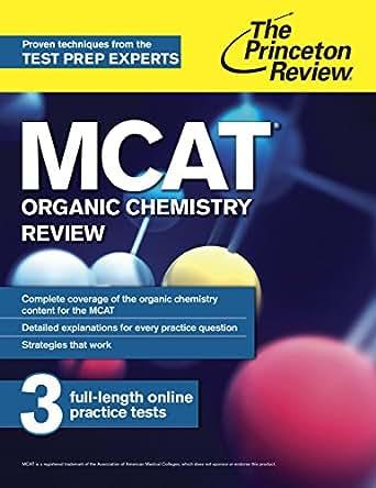 princeton review mcat organic chemistry