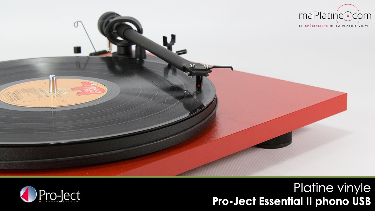 pro ject essential ii phono usb review