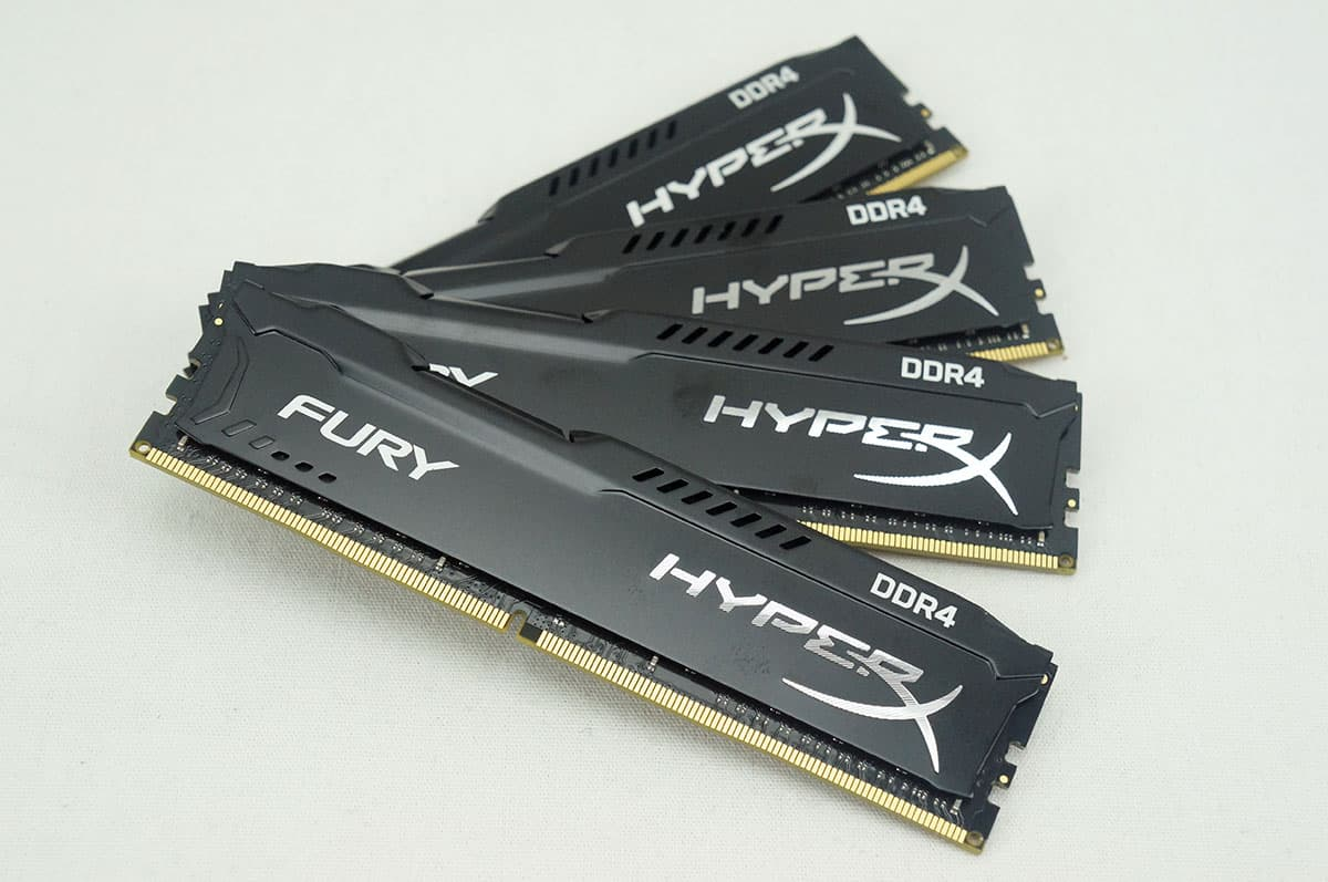 kingston hyperx fury ddr4 2400 review