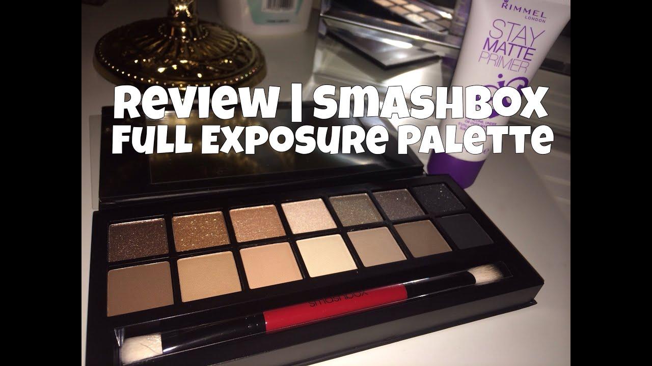 smashbox full exposure palette review