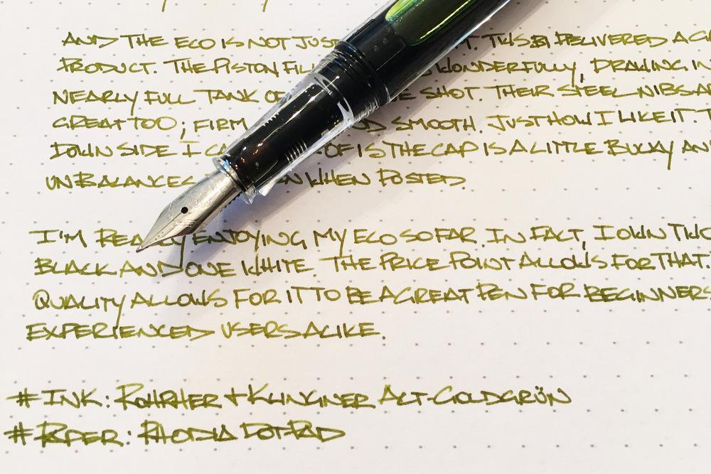 twsbi eco fountain pen review