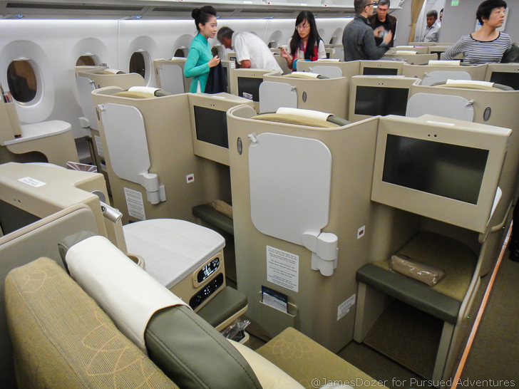 vietnam airlines a350 business class review