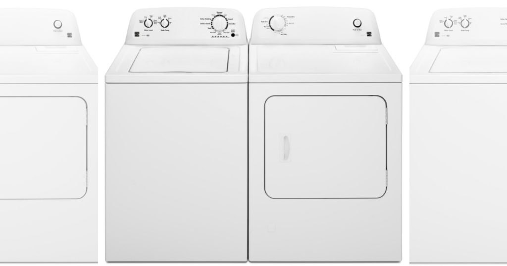 kenmore 3.5 top load washer reviews
