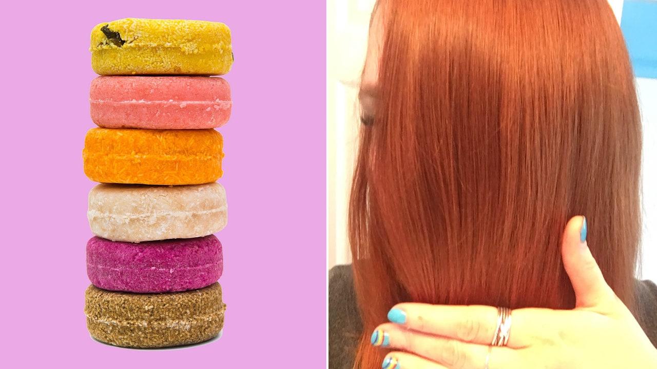 lush solid shampoo bar review