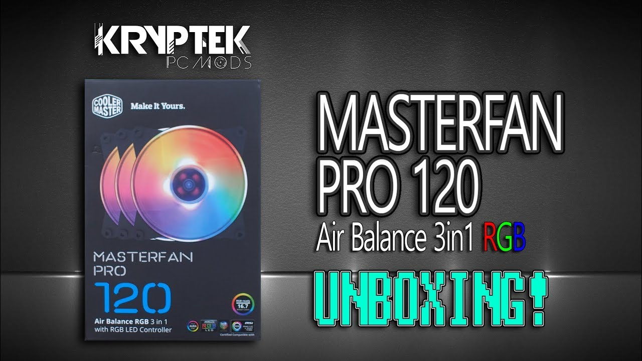 masterfan pro 120 air balance rgb review