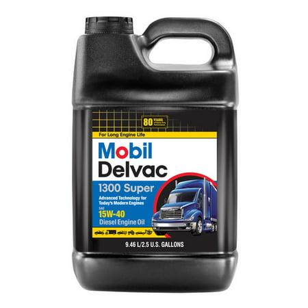 mobil delvac 1300 super 15w40 review