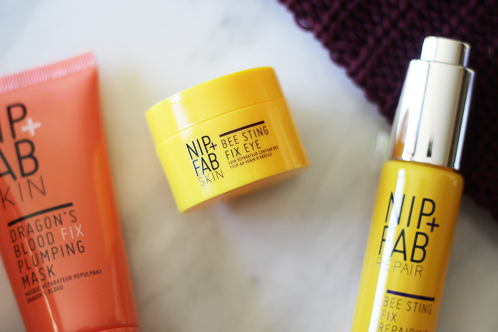 nip and fab bee sting fix eye review