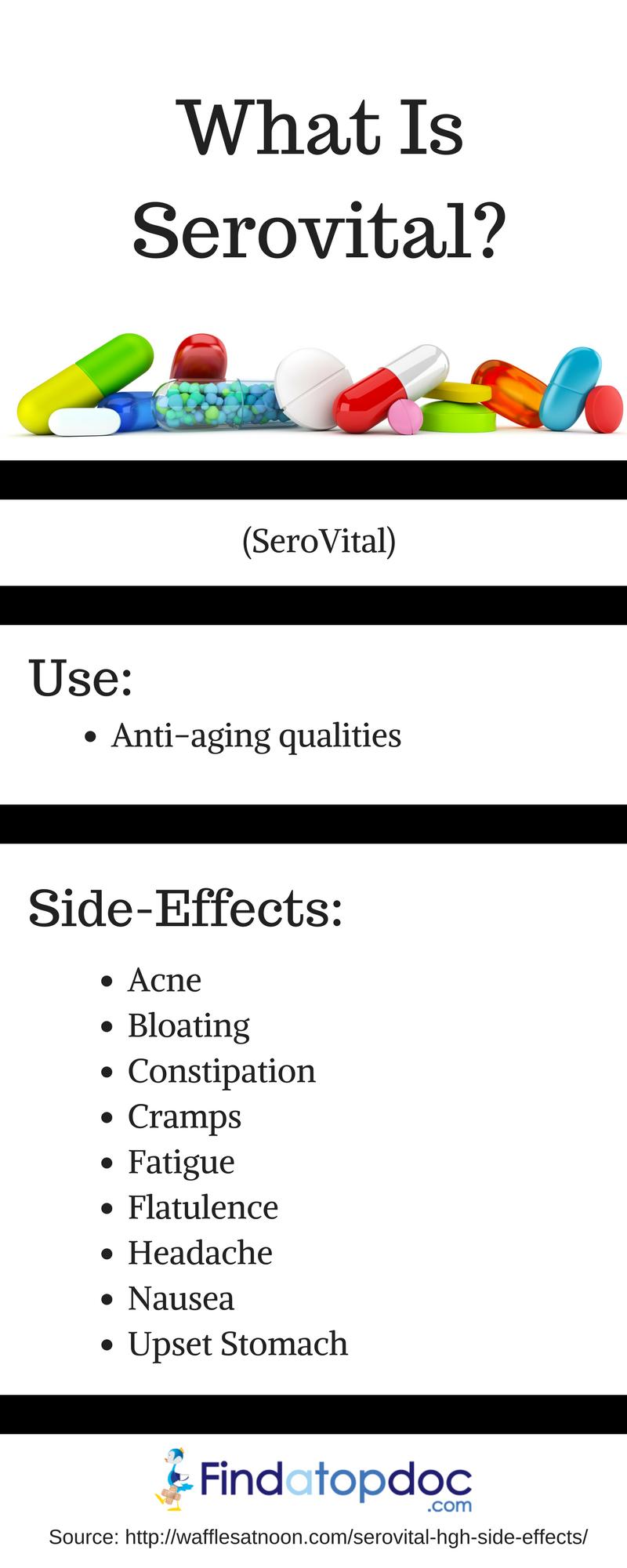 serovital hgh reviews side effects