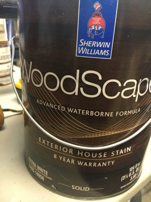 sherwin williams woodscapes stain reviews