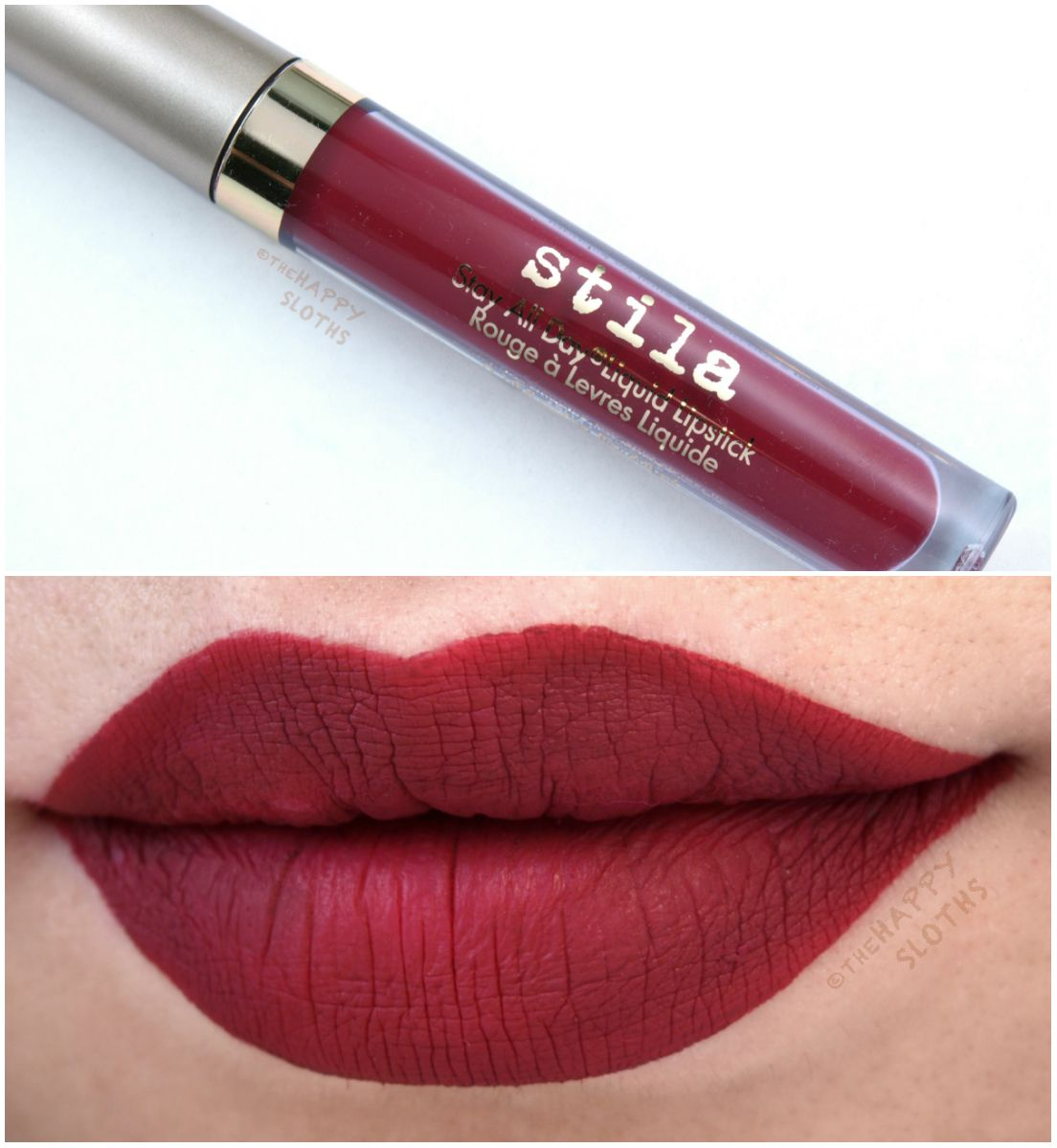 stila stay all day matte lipstick review