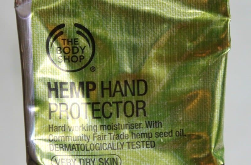 the body shop hemp hand protector review